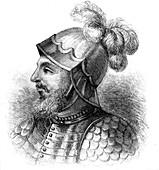 Vasco Nunez de Balboa, Spanish explorer, late 19th century
