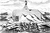 Winter quarters of Willem Barents' expedition to the Arctic