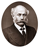 Joseph Bazalgette (1819-1891), English civil engineer, 1887