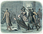The murder of Thomas a Becket, 1170