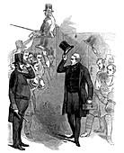 Robert Peel, British statesman