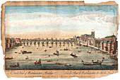 Westminster Bridge, London, 1753