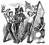 British military discipline, 19th century