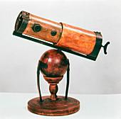 Isaac Newton's reflecting telescope, 1668