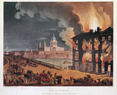 Fire in London', 1791