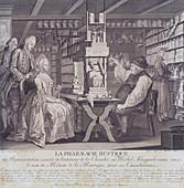 La Pharmacie Rustique', c1775