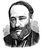 James Prescott Joule, English physicist, 1875