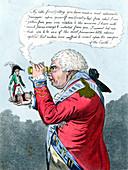 Napoleon and King George III, 1803