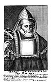 Hermes the Egyptian, alchemist, 17th century