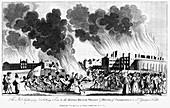 Anti-Catholic Gordon Riots, London, 7 June 1780