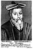 Nostradamus, 16th century French physician and astrologer