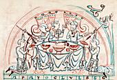 Banquet, 11th century