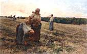Gleaners at Sunset', 1889