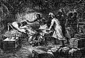 Death of David Livingstone, Scottish missionary and explorer