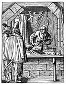 Sword maker, c1559-1591