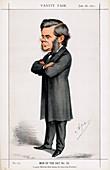 Thomas Henry Huxley, British biologist, 1871