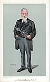 William Crookes, British physicist and chemist, 1903