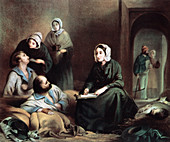 Florence Nightingale, British nurse and hospital reformer