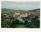 Saltaire, Yorkshire, 19th century