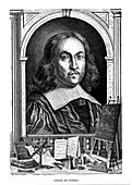 Pierre de Fermat, 17th century French mathematician, 1870