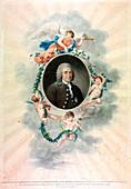 Carolus Linnaeus, Swedish naturalist and physician, 1807