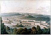 New Lanark Mills, Scotland, c1815