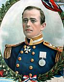 Robert Falcon Scott, British Antarctic explorer, 1914