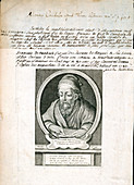 Euclid, Greek mathematician, 1740