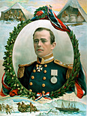 Robert Falcon Scott, British Antarctic explorer, 1914