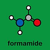 Formamide solvent molecule