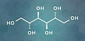 Mannitol molecule