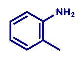 Ortho-toluidine molecule