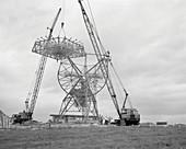 Tatel Telescope under construction, 1958