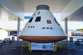 Orion spacecraft full-scale model.