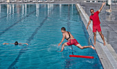 Lifeguard training course