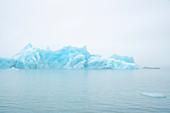 Melting glaciers, Iceland