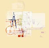 Measurement, conceptual illustration
