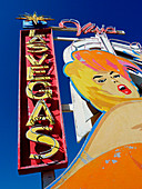 Las Vegas sign, illustration