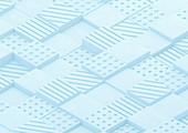 Textured block pattern, illustration