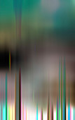 Abstract pattern of blurred stripes, illustration