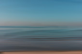 Blurred seascape, illustration