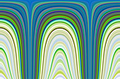 Abstract line pattern, illustration