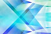 Abstract crisscross pattern, illustration