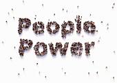 People power, conceptual illustration