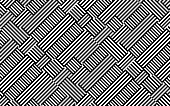 Monochrome abstract repeat striped pattern, illustration