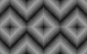 Monochrome abstract pattern, illustration