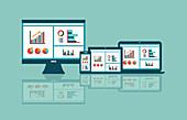 Sharing of financial data, illustration