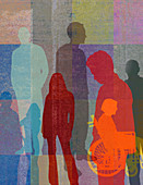 People, illustration