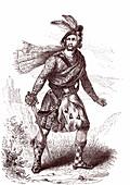 Scottish clan chief, 19th century