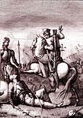 'Jerusalem Delivered', 19th-century illustration